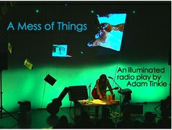 "Promotional image for the performance of ""A Mess of Things"" at the 10th Avenue Theatre. Courtesy of the San Diego Fringe Festival."