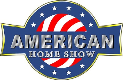 Graphic logo for the American Home Show.