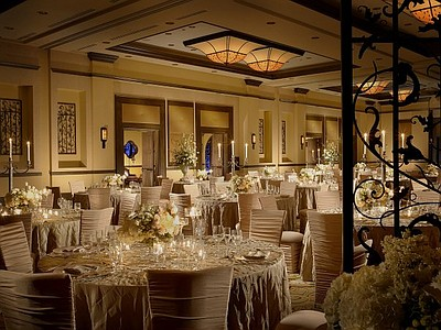Interior image of the Aragon Ballroom at the Rancho Bernardo Inn.