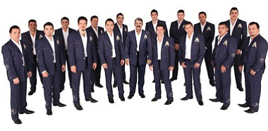 Image of La Arrolladora Banda El Limón who will be performing at The Del Mar Fair on June 16th, 2013, courtesy of the Del Mar Fairgrounds.