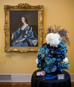 """Art Alive"" Winning Floral Design 2012. Courtesy of San Diego Museum of Art"