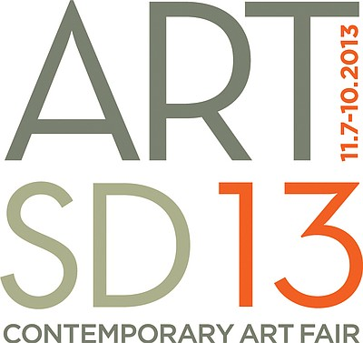 Promotional graphic for the ART SAN DIEGO Contemporary Ar...