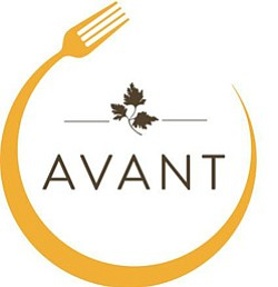 Graphic logo of the Avant Restaurant at the Rancho Bernardo Inn.