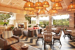 Interior image of the Avant Restaurant at the Rancho Bernardo Inn. Courtesy image of Rancho Bernardo Inn.