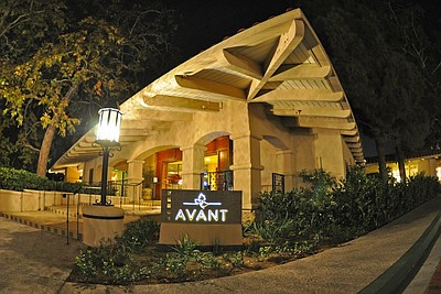 Exterior image of Avant Restaurant at Rancho Bernardo Inn.