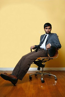 Image of comedian and actor, Aziz Ansari, coming to San Diego on May 6, 2013 at San Diego Civic Theatre.