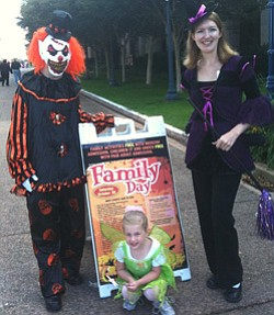Promotional photo the 2012 Halloween Family Day At Balboa...