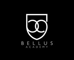 Graphic logo for Bellus Academy.