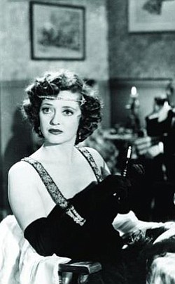 "Promotional image of Bette Davis in ""Mr. Skeffington""."