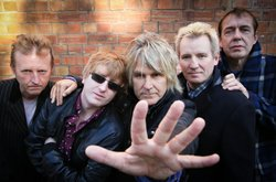 Image of Big Country with Mike Peters of the Alarm, who will be performing at the Belly Up on June 19th, 2013.