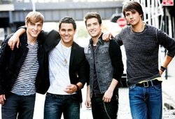 Image of Big Time Rush, who will be performing with Victoria Justice at teh 2013 San Diego County Fair on June 22nd, 2013.