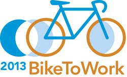 Promotional graphic for the Bike To Work Day 2013 taking place on May 17th. Courtesy of iCommute.