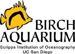Logo for the Birch Aquarium.