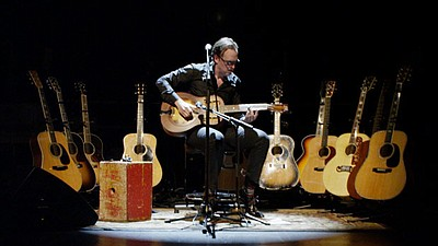 Joe Bonamassa performs at the Vienna Opera House, July 3, 2012. Courtesy of J&R Adventures