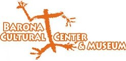 Graphical logo for Barona Cultural Center & Museum.