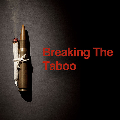 "Promotional graphic for the film, ""Breaking The Taboo."""