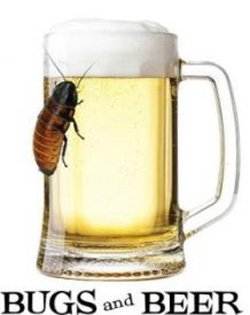 """Promotional image of """"Bugs & Beer"""" at the San Diego Natural History Museum on May 1, 2013."""