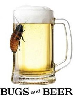 "Promotional image of ""Bugs & Beer"" at the San Diego Natural History Museum on May 1, 2013."