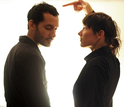 Image of Buke and Gase, who will be performing at The Casbah on February 20th, 2013.