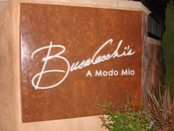 Promotional image of Busalacchi's A Modo Mio. Courtesy to Busalacchi's A Modo Mio.