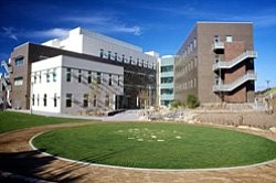 Exterior image of California State University San Marcos.