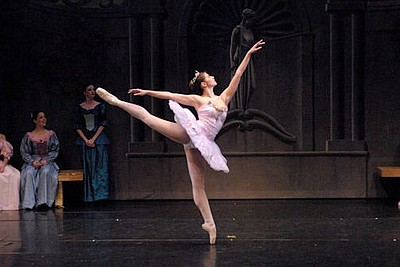 Image from a previous performance of California Ballet Company. Photo (C)2011 Brad Matthews.