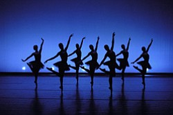 Promotional image of the California Ballet Company.