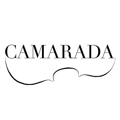 Graphic logo of Camarada The Chamber Music Ensemble.
