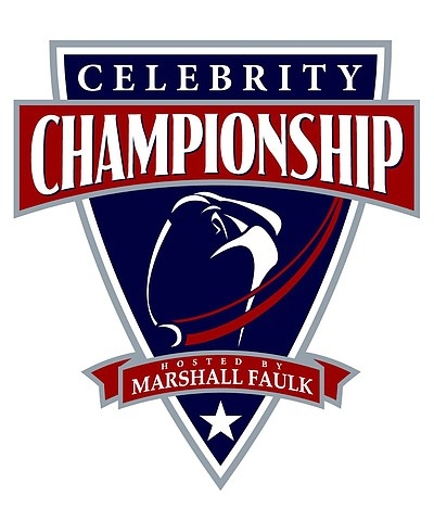Promotional graphic for the 2013 Celebrity Championship Hosted By Marshall Faulk on May 17th-19th, 2013.