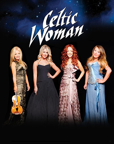 Left to Right: Mairead, Susan, Lisa, Chloe of Celtic Woman. Courtesy of Lili Forberg
