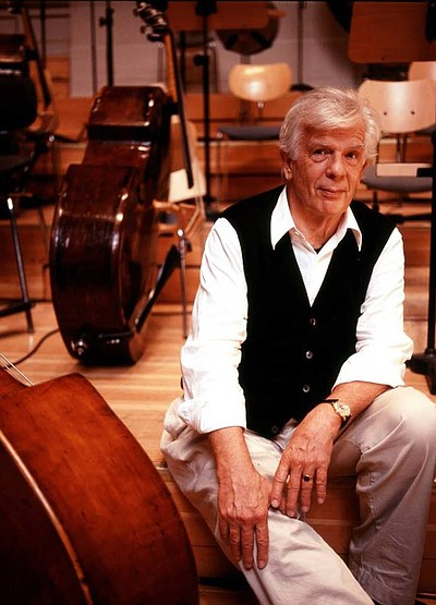 Image of Christoph von Dohnanyi, who will be performing Beethoven's Fifth on April 25th & 26th, 2014.