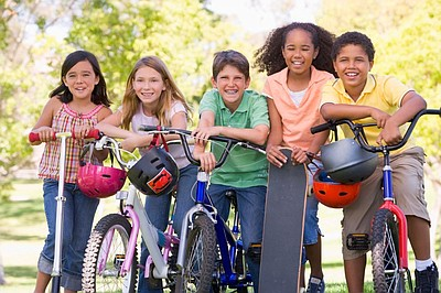 Promotional image for the CicloSDias Minis taking place at three locations throughout San Diego. Courtesy of CicloSDias