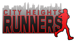Graphic logo for the City Heights Runners.