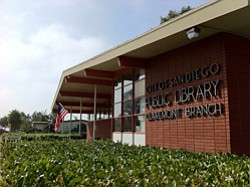 Exterior image of Clairemont Library.