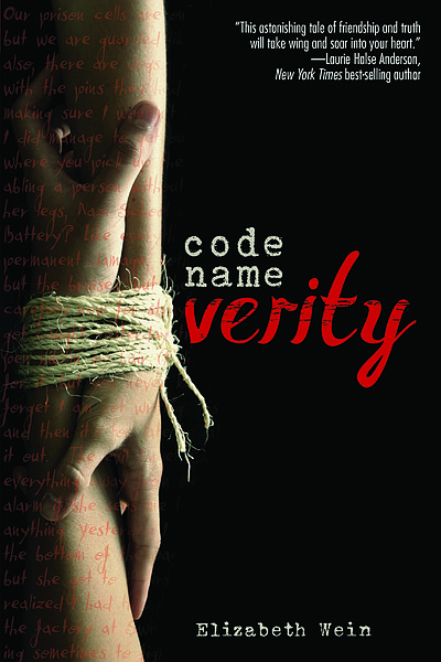 "Exterior book image of ""Code Name Verity"" by Elizabeth Wein."