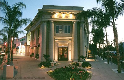 Exterior image of Coronado Museum of History and Art.