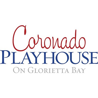 Graphic logo for the Coronado Playhouse.
