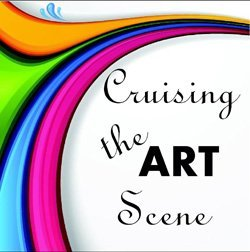 Graphic logo for Cruising The Art Scene, Carlsbad. This month Cruising The Art Scene takes place on August 22nd, 2013.