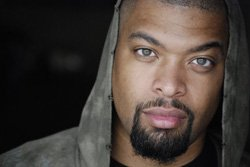 Image of comedian DeRay Davis performing at the American Comedy Co. July 25-28, 2013.