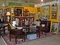 Promotional image of the Del Mar Antique Show & Sale at the Del Mar Fairgrounds Friday, Saturday and Sunday, November 15 - 17, 2013.