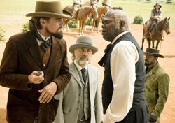 "Promotional image from the film ""Django Unchained"" playing at Central Public Library's Friday Talking Pictures on May 10, 2013."