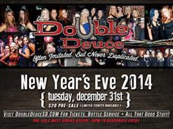 Promotional graphic for Double Deuce New Years Eve 2014. Courtesy of Double Deuce.