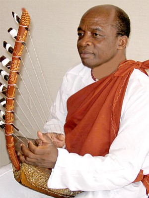 Image of Dr. James Makubuya, who will be performing at the Museum of Making Music.