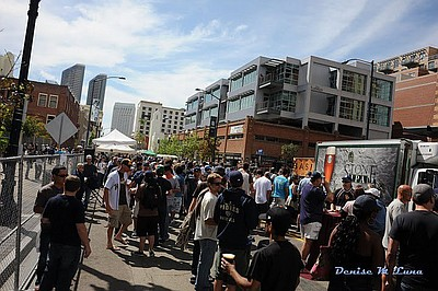 Image from a previous East Village Opening Day Block Party.