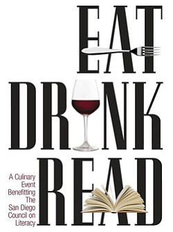 Promotional logo for Eat. Drink. Read. on May 22nd, 2013 ...