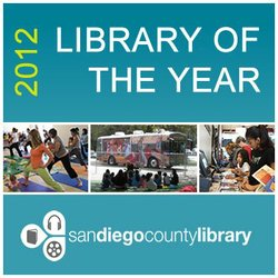 Promotional graphic for the El Cajon Branch Library.