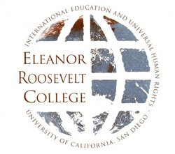 Graphic logo of Eleanor Roosevelt College.