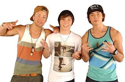 Image of Emblem3, who will be performing at the 2013 San Diego County Fair on June 13th, 2013.