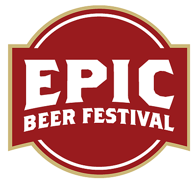 Graphic logo for the Epic Beer Festival taking place on March 15th & 16th, 2013.