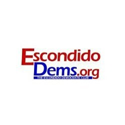 Graphic logo for Escondido Democrats.
